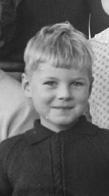 Campling aged 4