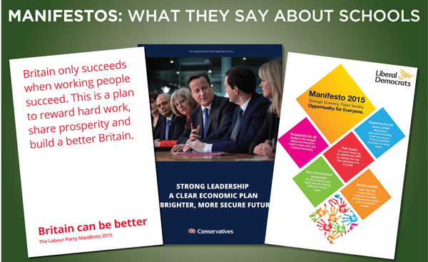 Election 2015: what the parties say they will do for education