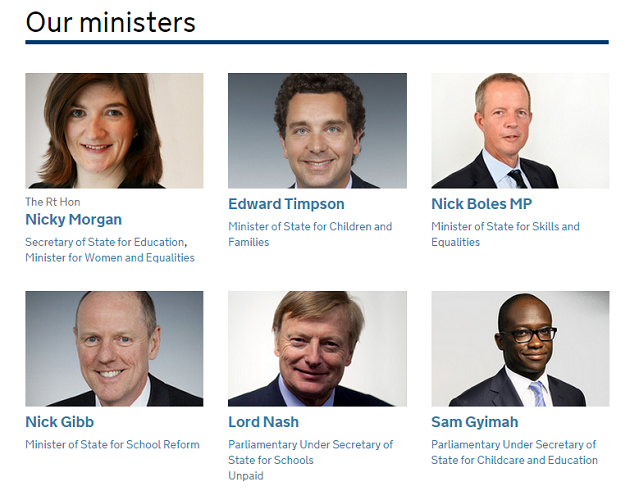 Familiar faces head up the DfE as reshuffle leaves department relatively untouched