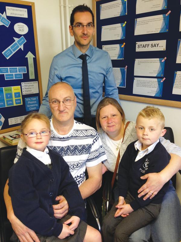 Alfie's school raises money for hospital