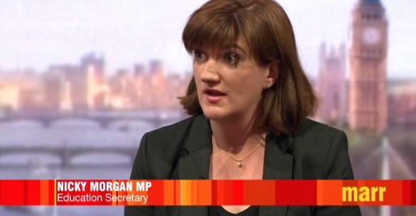 Nicky Morgan: Academies are a 'better kind' of school than local authority ones