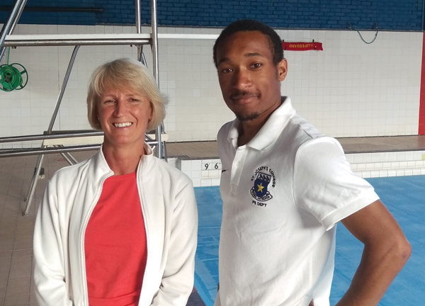 PE teacher's lifesaving skills recognised