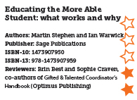 Educating the More Able Student: what works and why
