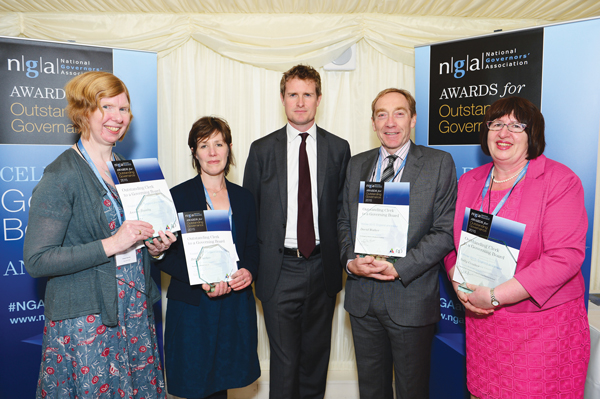 Clerks share top honours at governors' awards