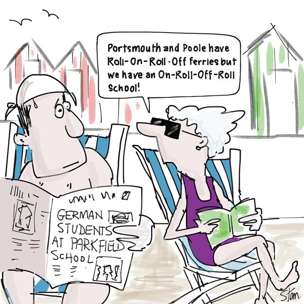 German pupils swell free school's roll