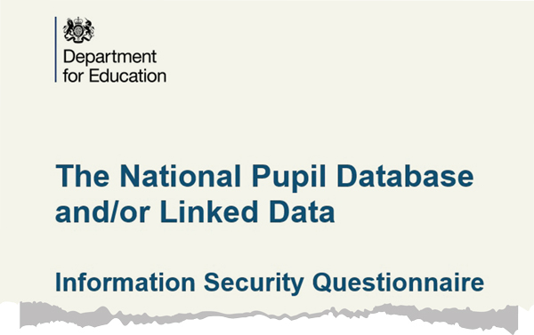 MoD requests sensitive pupil data... by mistake