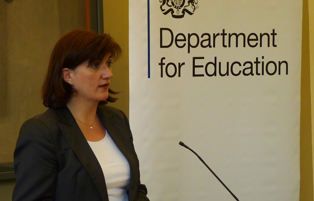 'Coasting' school definition left out of Nicky Morgan education bill