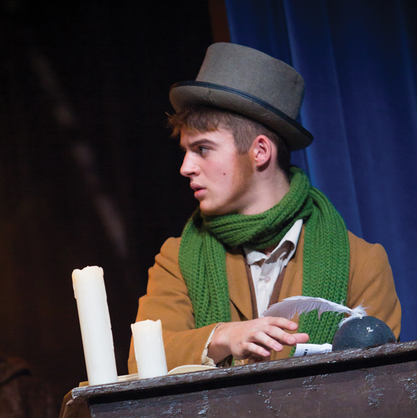 Joe aims for a life on the stage