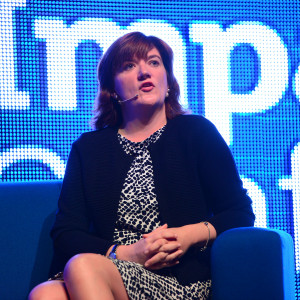 Education secretary Nicky Morgan at the Teach First Impact Conference.