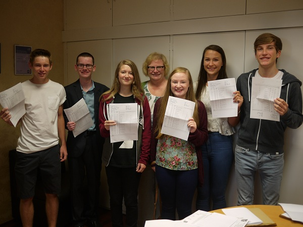 Benfleet secondary modern records best ever GCSE results
