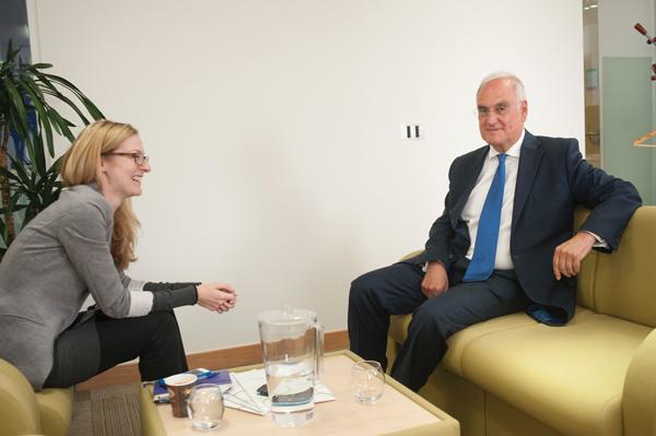 Wilshaw meeting editor Laura McInerney