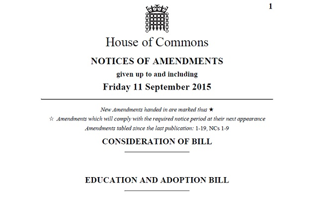 Six things Labour wants to change about the education and adoption bill