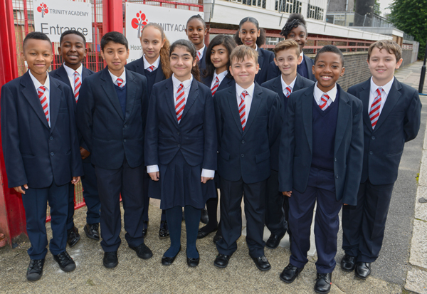Trinity free school: How many pupils do they have now?