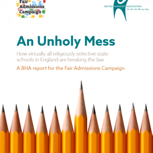 """Report reveals """"widespread violations"""" of admissions code in faith schools"""