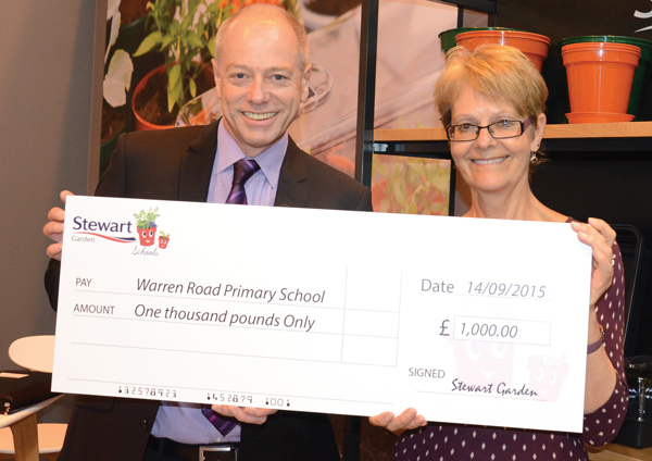 Green fingers win £1,000 top prize