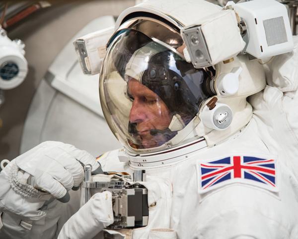 British astronaut boosts science programme