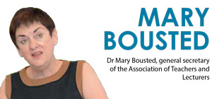 Mary Bousted: 'Don't tell me I have low expectations'
