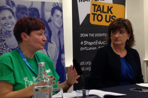 Conservative conference: Nicky Morgan union clash over 'negative picture' of teaching