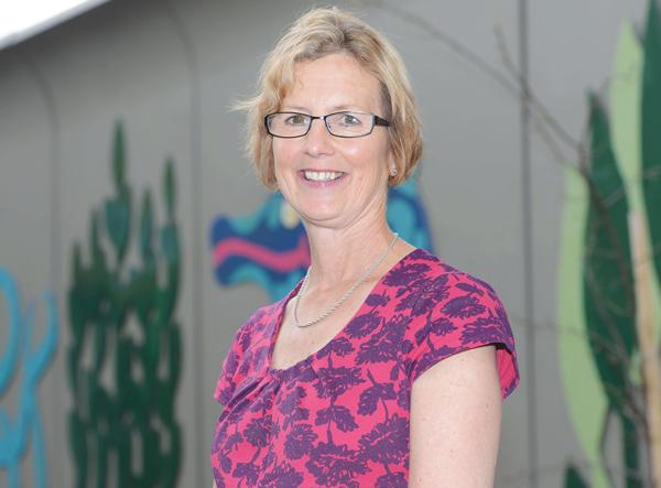 Julie Overend, teacher, Nottingham Children's Hospital School