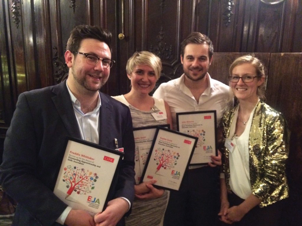 Schools Week staff scoop awards