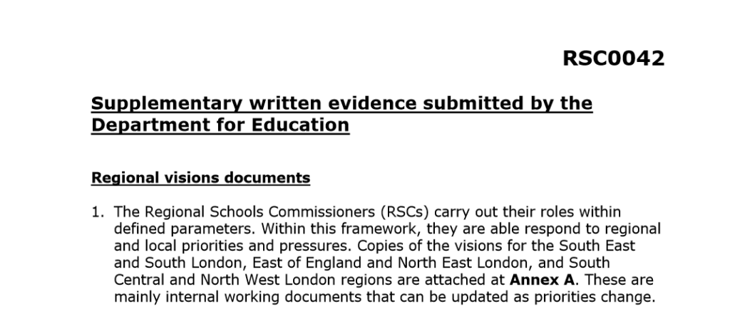 Regional schools commissioners: 14 things you didn't know ... but definitely should
