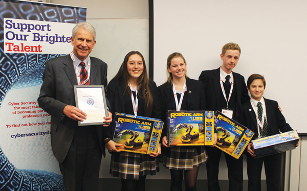 Hertford code-breakers win cyber games