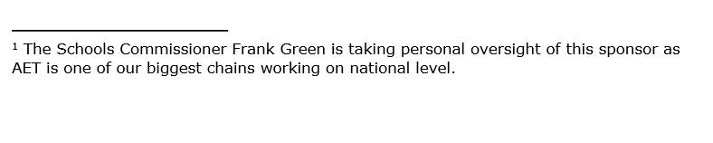 Frank Green AET
