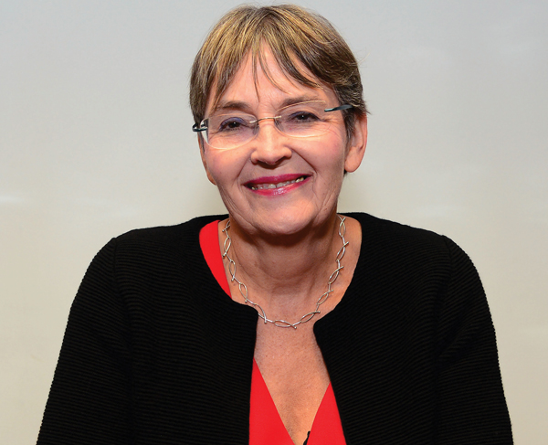 Joan McVittie, retired headteacher, Woodside High School