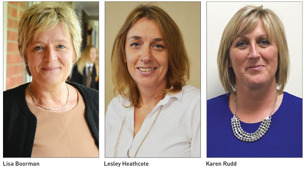 Movers & Shakers: Lisa Boorman, Lesley Heathcote and Karen Rudd