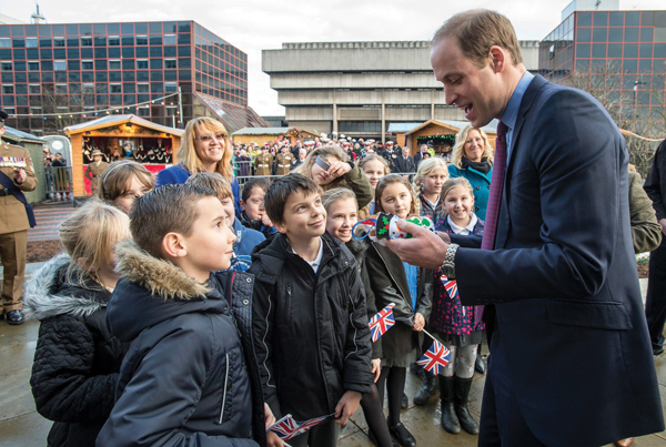 Prince charms primary pupils
