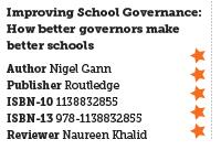 Improving School Governance: How better governors make better schools