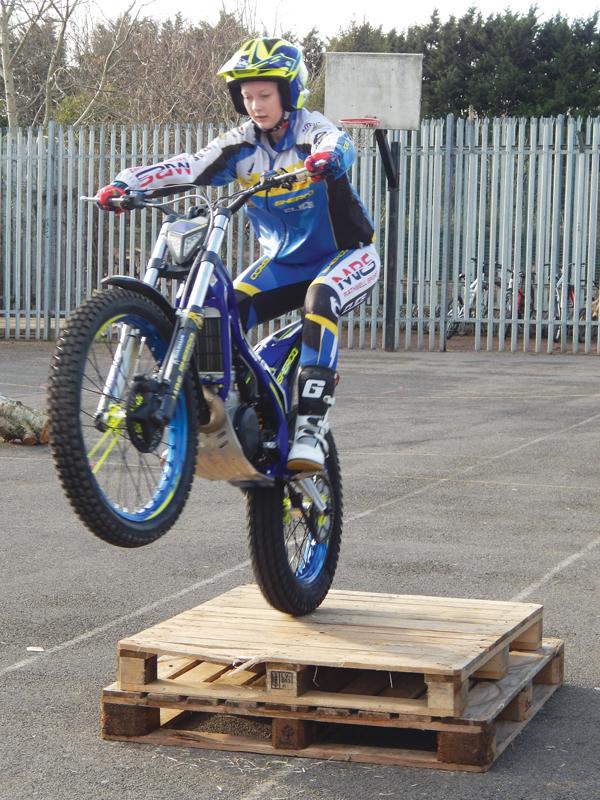 Bristol biker