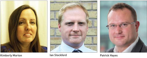 Kimberly Morton, Ian Stockford and Patrick Hayes