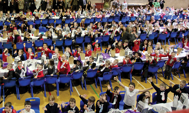 Wannabe wizards see school transformed into Hogwarts