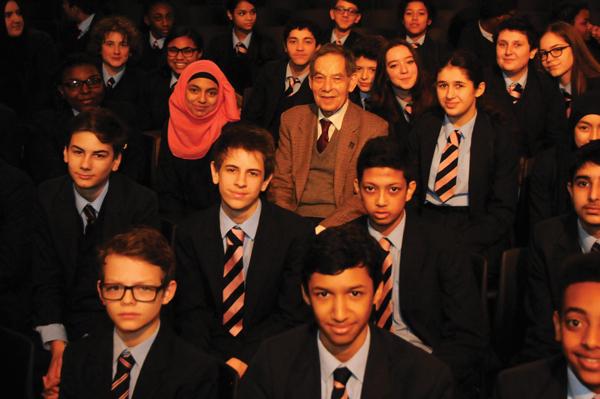 Holocaust survivor's account streamed to schools