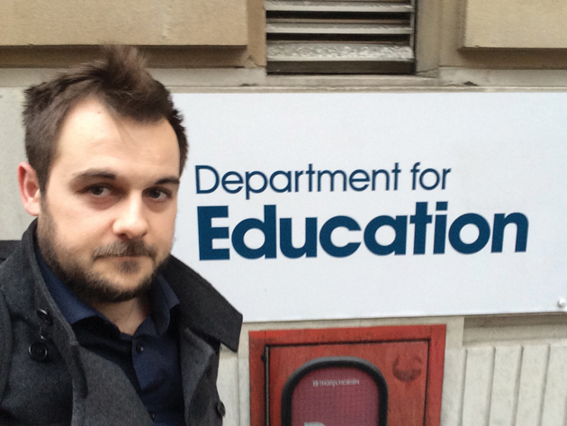 DfE refuses to publish register of interests online