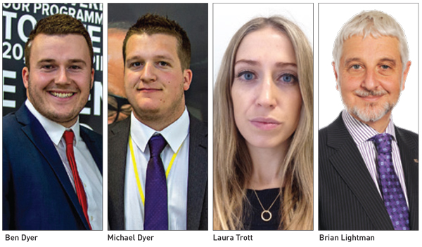 Movers & Shakers: Ben and Michael Dyer, Laura Trott and Brian Lightman