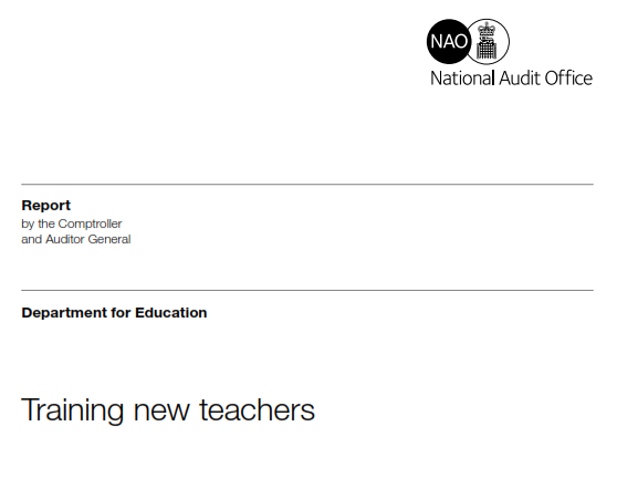 NAO Teacher Recruitment Report: The 15 key points