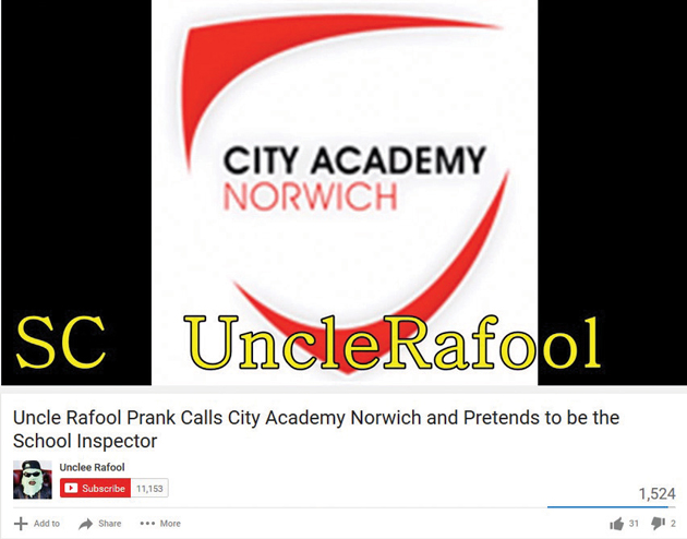 Ofsted prank calls 'done for a laugh' says YouTube star