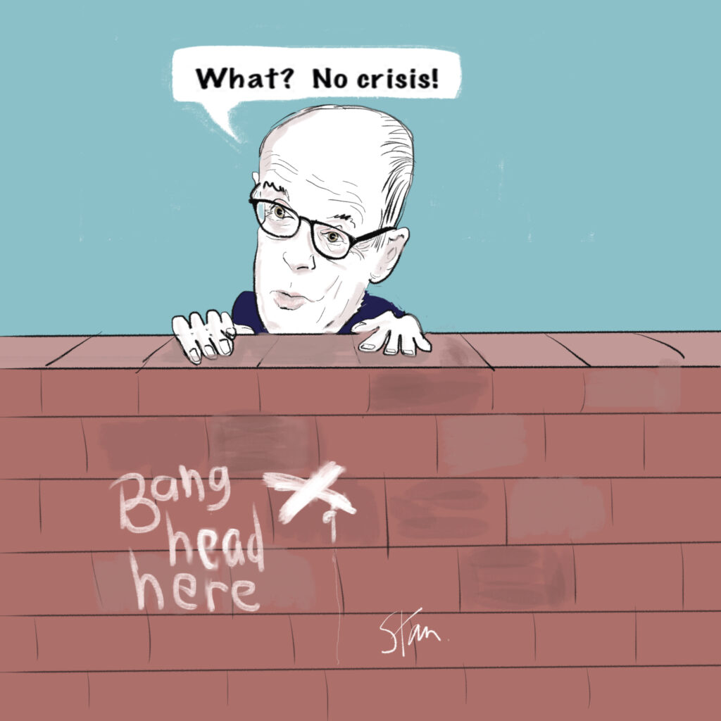 Crisis? What crisis? Nick Gibb stays stoic after damning NAO report