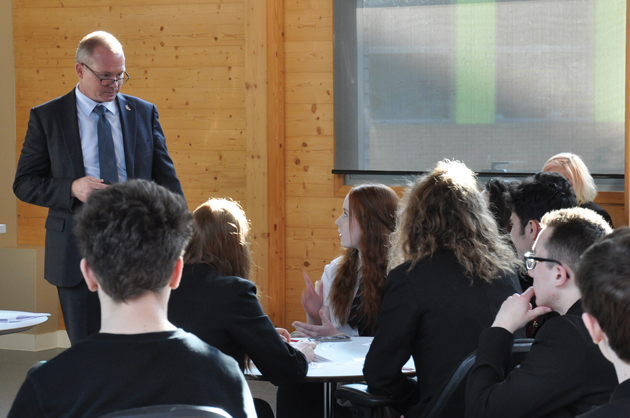 US politics presentation for Norwich pupils