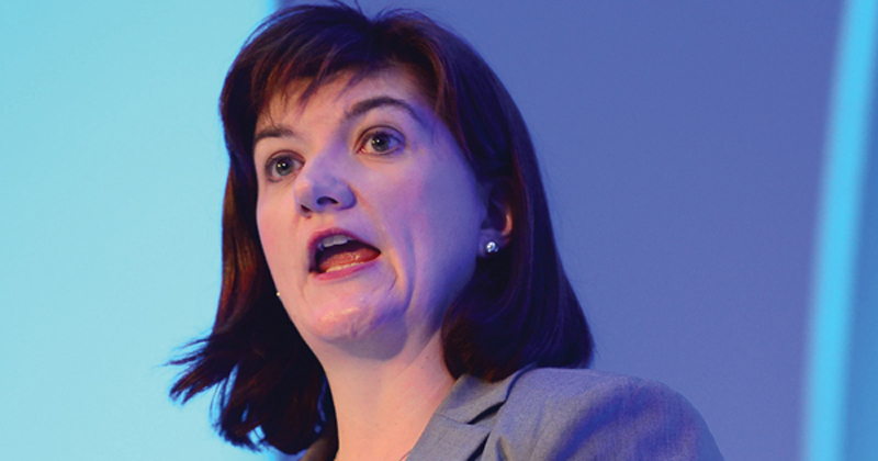 Nicky Morgan: Children from EU should have right to remain