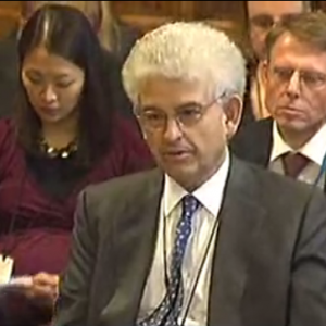 david metter giving evidence to the PFI inquiry