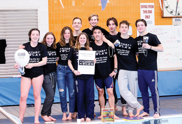 Featured: Oundle pupils in sponsored swim for cancer charity
