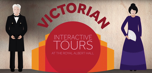 Royal Albert Hall launches Victorian tour