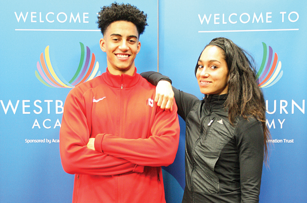 Ipswich's Westbourne Academy hosts Olympic visit