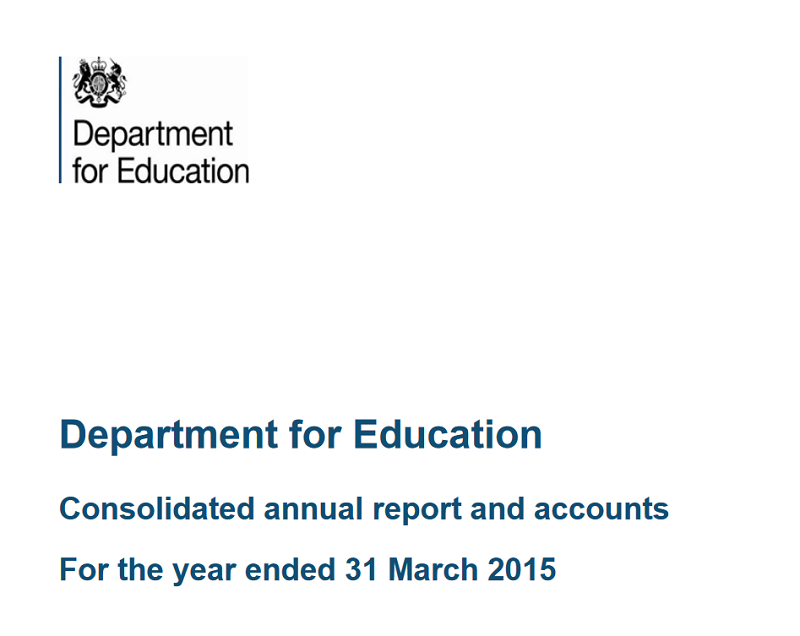 10 key findings from the DfE's accounts: Bonuses, data breaches and lots more pay-offs