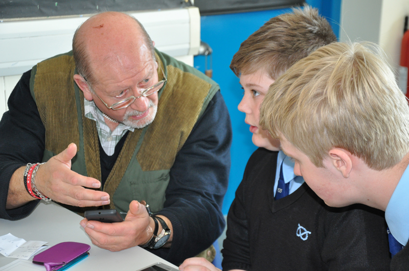 Over-60s go back to school