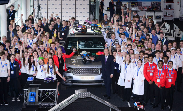 Finalists of the Land Rover 4X4 in Schools Technology Challenge