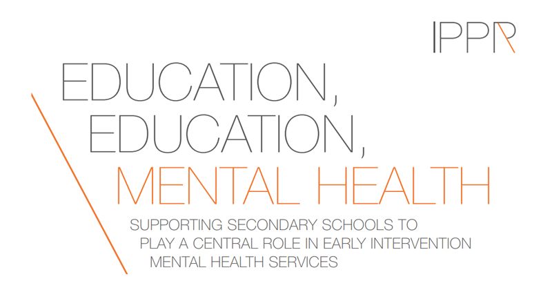 Speed read: mental health in schools - IPPR report